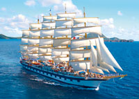 Traumhafte Inseln im Mittelmeer (SY Royal Clipper)